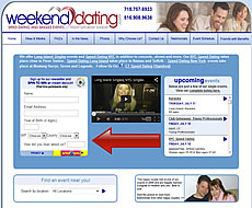 'Long Island Single Events' - Weekenddating.com found on Google top 10