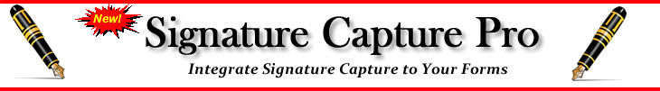 Online signature capture software available for your website, android or iPhone.
